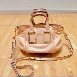 Chloe pink ethel leather handbag